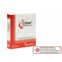 RxMediaPharma® RxEtiket® No. 1 1000 Etiketli Tek Kutu