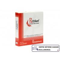RxMediaPharma® RxEtiket® No.15 1000 Etiketli Tek Kutu