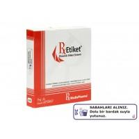 RxMediaPharma® RxEtiket® No.36 500 Etiketli Tek Kutu
