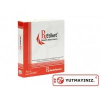 RxMediaPharma® RxEtiket® No.40 500 Etiketli Tek Kutu