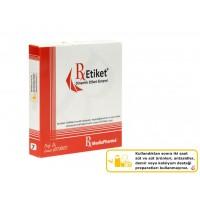 RxMediaPharma® RxEtiket® No.7 1000 Etiketli Tek Kutu