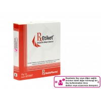 RxMediaPharma® RxEtiket® No.8 1000 Etiketli Tek Kutu