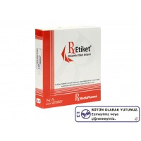 RxMediaPharma® RxEtiket® No.13 1000 Etiketli Tek Kutu