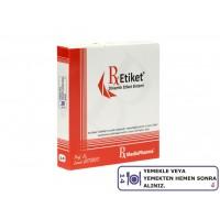 RxMediaPharma® RxEtiket® No.14  1000 Etiketli Tek Kutu