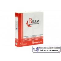 RxMediaPharma® RxEtiket® No.17 1000 Etiketli Tek Kutu