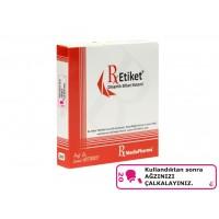 RxMediaPharma® RxEtiket® No.20 1000 Etiketli Tek Kutu