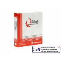 RxMediaPharma® RxEtiket® No.25 500 Etiketli Tek Kutu
