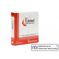 RxMediaPharma® RxEtiket® No.34 500 Etiketli Tek Kutu